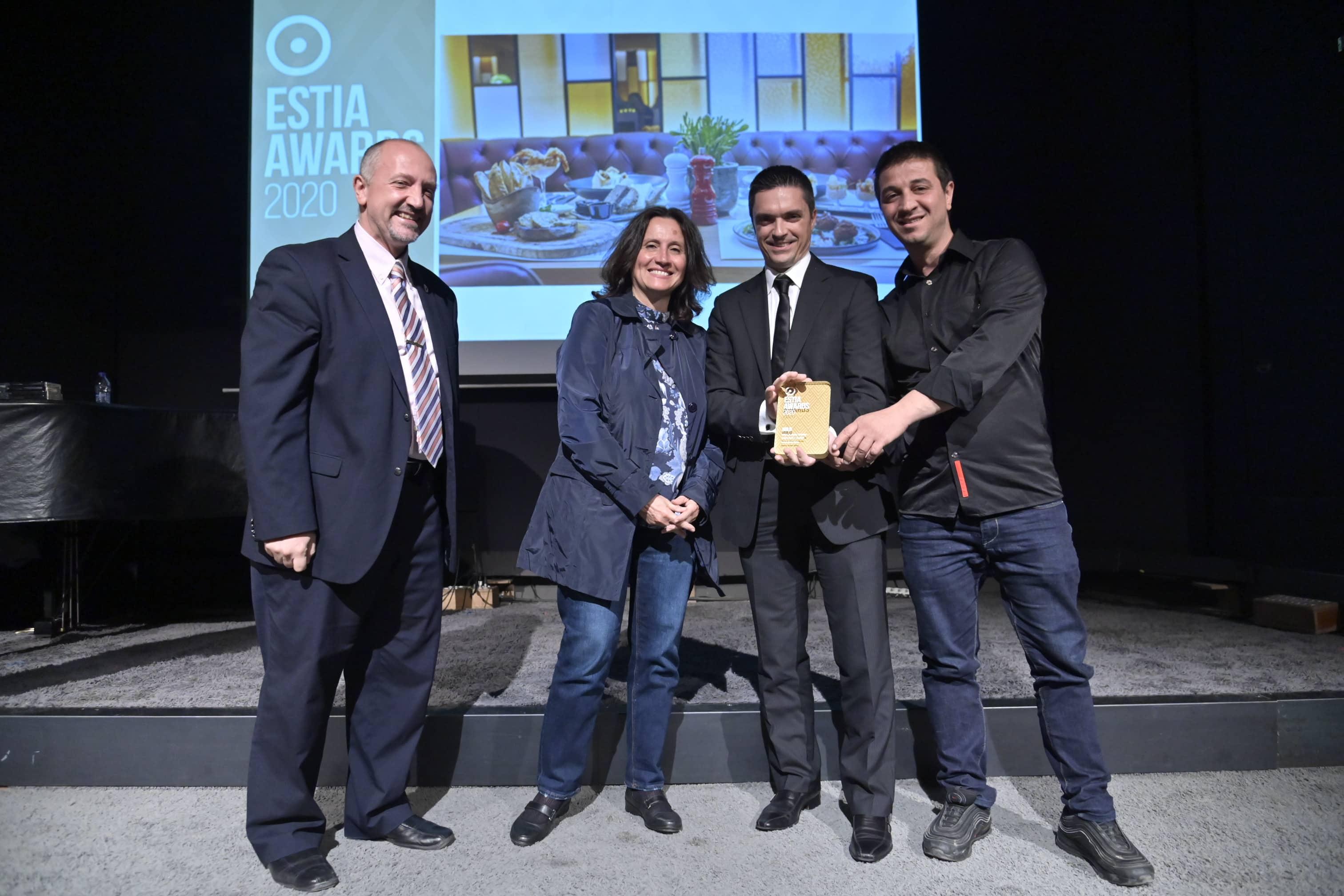 Χρυσή διάκριση για το Zinglee στα Estia Awards 2020